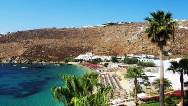 South Coast of Mykonos Beach Safari